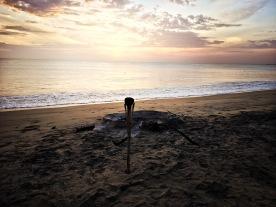 Sunrise at Trincomalee beach